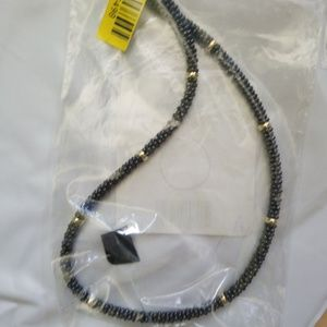 Lagos Black Caviar 18k Gold Beaded Necklace 16""